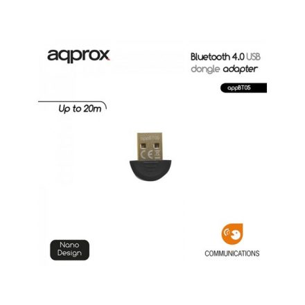 APPROX Adapter - Bluetooth 4.0 adapter (USB)