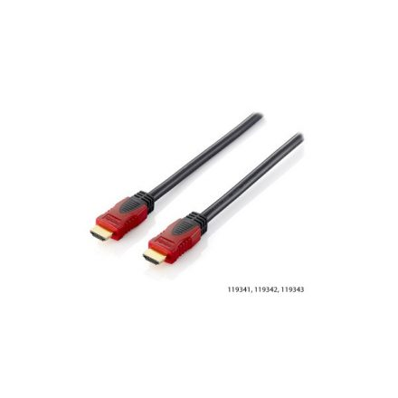 Equip Kábel - 119342 (HDMI2.0 kábel, 4K/60Hz, apa/apa, aranyozott, 2m)