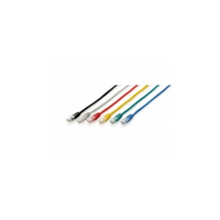 Equip Kábel - 625420 (UTP patch kábel, CAT6, piros, 1m)