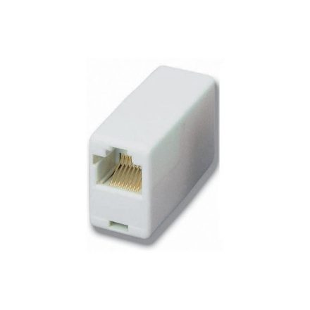 Equip UTP Toldó - 121252 (UTP, RJ45-RJ45, aranyozott, fehér)
