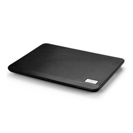 "DeepCool Notebook Hűtőpad 14""-ig - N17 BLACK (21dB; max. 80,39 m3/h; 14cm, 1xUSB2.0)"