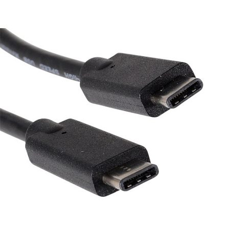 Sandberg Kábel - USB-C (2m; fekete; USB-C apa be-/kimenet; USB3.1 Gen2 kompatibilis; 10Gbps)