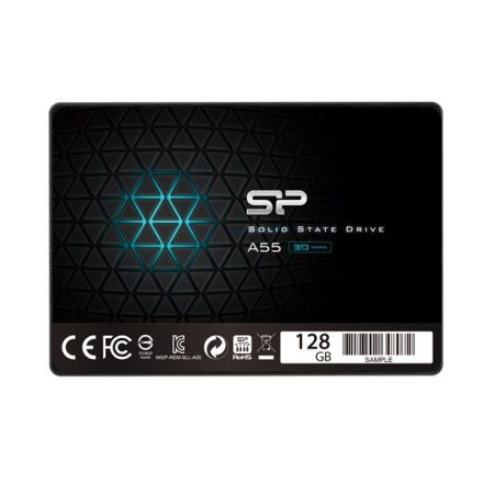 "Silicon Power SSD - 128GB A55 2,5"" (TLC, r:550 MB/s; w:420 MB/s)"
