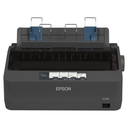 Epson Mátrixnyomtató LQ-350 (A4, 360x180 dpi, 24 tű, USB/RS-232/LPT)