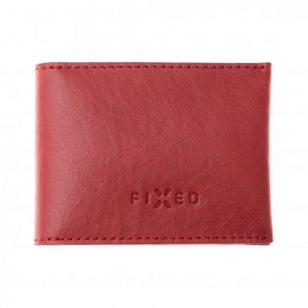 FIXED Real leather Wallet, red